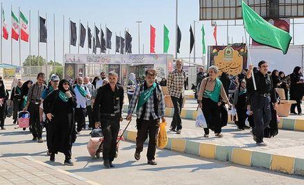 رکود تردد زائران در مرز مهران شکسته شد