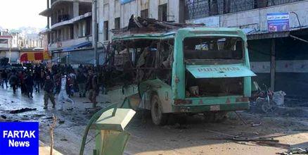 انفجار خودروی بمبگذاری شده در شهر حلب سوریه