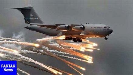 حمله ائتلاف آمریکا به اهداف داعش در جنوب شرق موصل