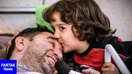 مداح معروف در کما / دعا کنید+ عکس