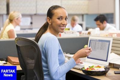 یک رژیم غذایی سالم مخصوص کارمندان