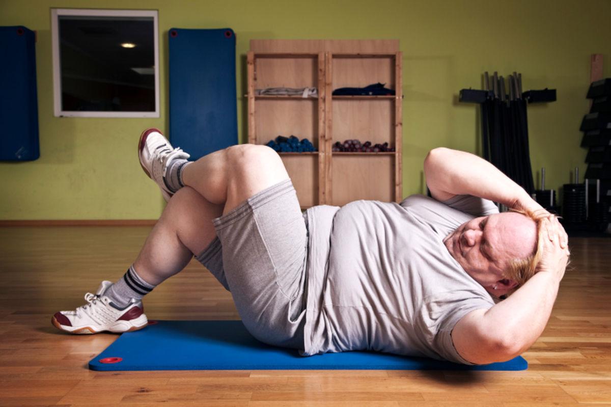 توصیه ای به چاق ها برای ورزش کردن