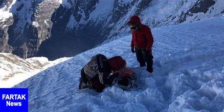 صعود کوهنورد ایرانی به اورست