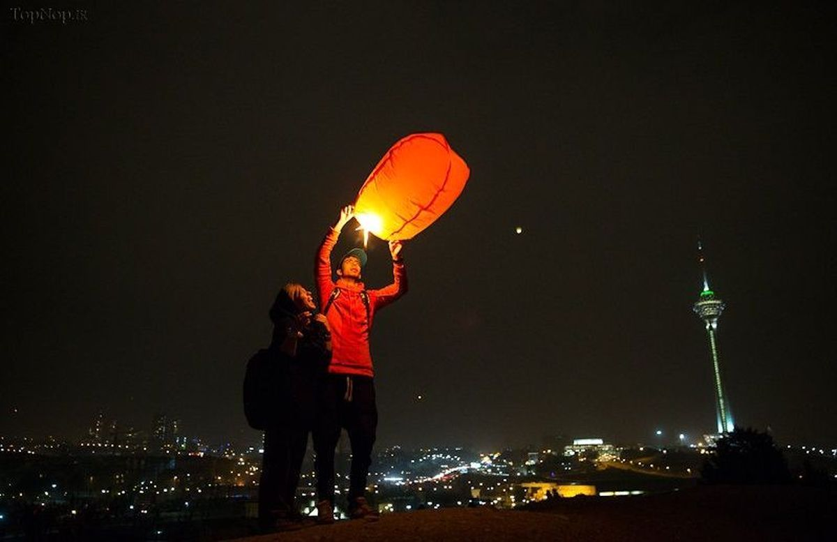 هشدار درباره بالن هوا کردن در شب چهارشنبه سوری
