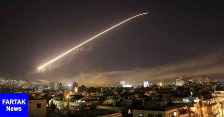 حمله موشکی اسرائیل به حومه فرودگاه دمشق