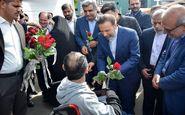 رئیس دفتر رئیس جمهور از آسایشگاه سالمندان رشت بازدید کرد