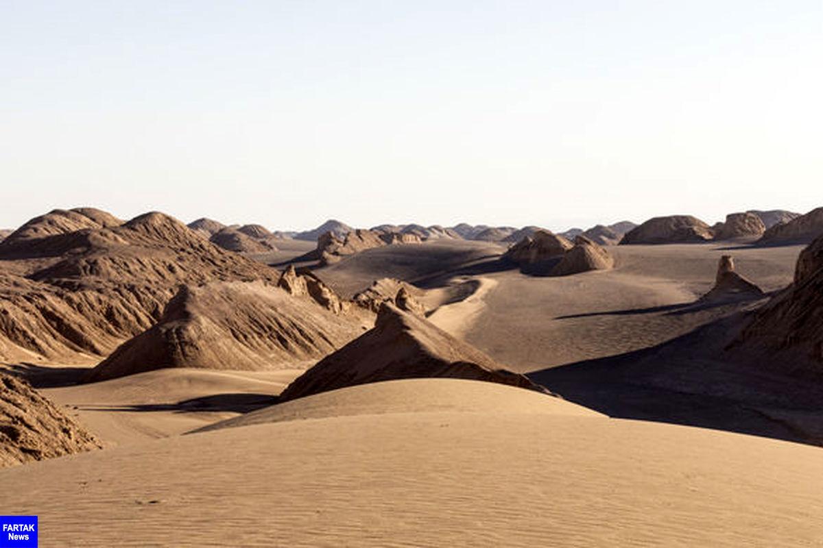 دشت کویر لوت| یکی از زیباترین کویر های ایران و جهان