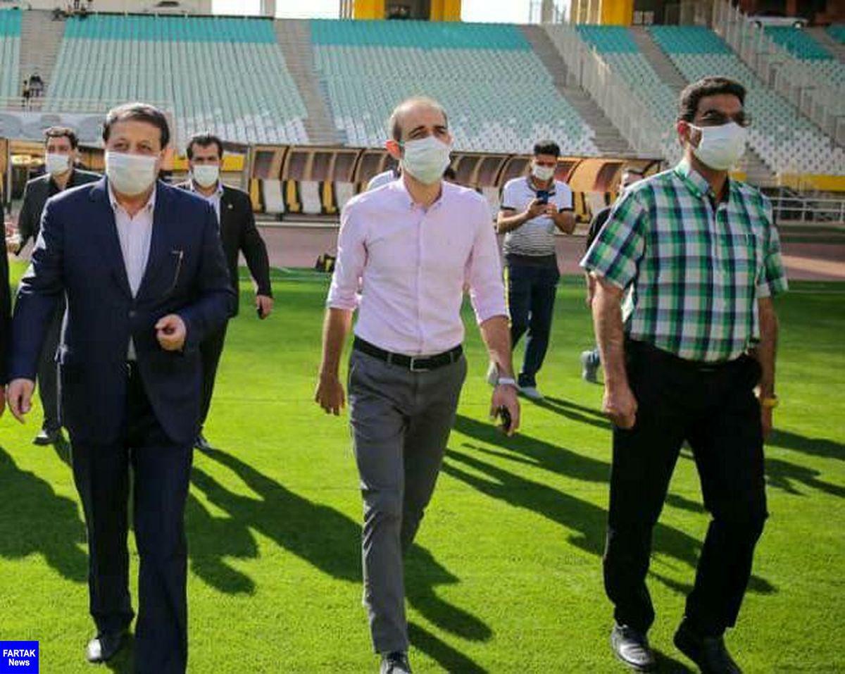 بازتاب حضور نویدکیا روی نیمکت سپاهان در سایت AFC