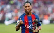 بازگشت رونالدینهو به دنیای فوتبال