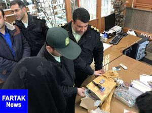 دستگیری عامل تهدید به بمبگذاری در چهارراه فرمانیه +عکس