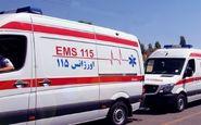 تصادف زنجیره ای در آزادراه تهران - ساوه ۲ مصدوم داشت