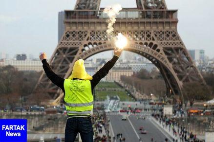 هجدهمین شنبه اعتراضات جلیقه زردها در فرانسه