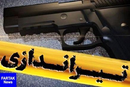 دستگیری عامل تیر اندازی در صحنه