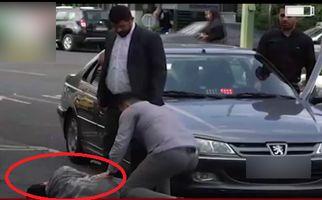 واکنش مردم به بیتفاوتی نماینده مجلس پس از تصادف با پسر دستفروش +فیلم