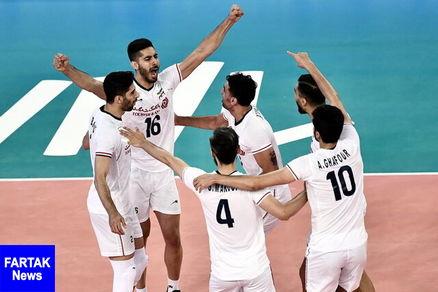 والیبال ایران از دیوار چین گذشت