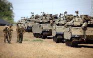 استقرار کم سابقه ادوات نظامی رژیم صهیونیستی در مرز غزه