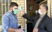 عزمی راسخ در خوابگاه های دانشگاه علوم پزشکی کرمانشاه در مقابله با ویروس کرونا