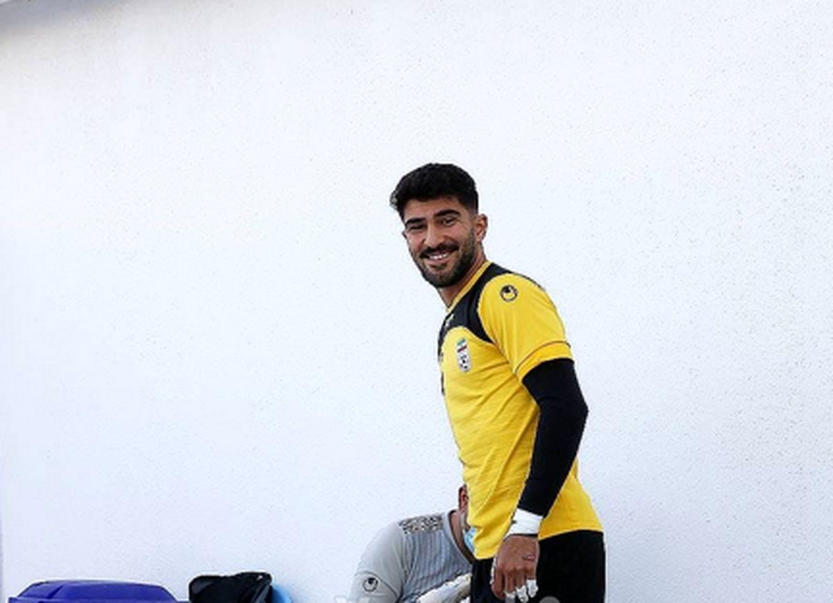 امیر عابدزاده در سودای شماره یک تیم ملی