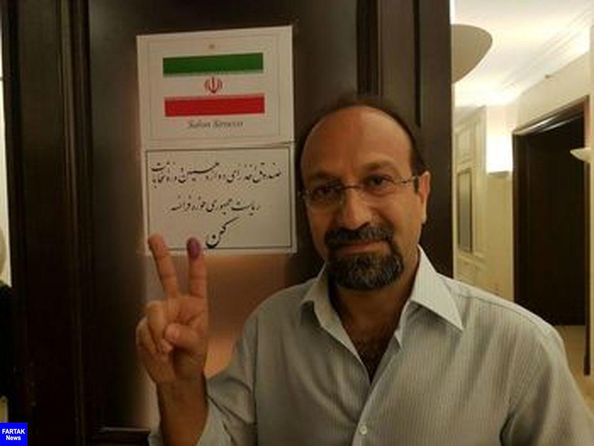 خوش بینی اصغر فرهادی به تیم ملی فوتبال کشورمان