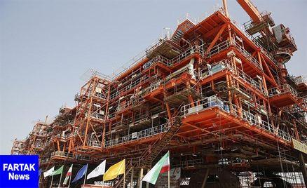 ۵۶ میلیون متر مکعب گاز ترش از فازهای 13 و 22تا 24 تولید میشود