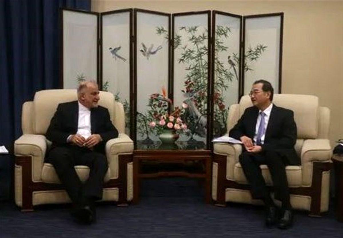 سفیر ایران با معاون جدید وزیر خارجه چین دیدار کرد