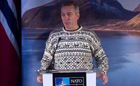 پوشش غیر رسمی وزیر دفاع نروژ سوژه رسانه ها شد +فیلم