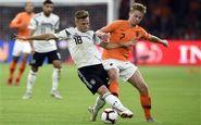 ترکیب هلند برای دیدار مقابل آلمان اعلام شد