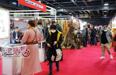 گزارش تصویری از نمایشگاه  گردشگری و صنایع وابسته