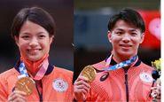 کسب دو مدال طلای المپیک توسط خواهر و برادر ژاپنی