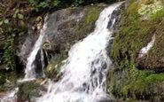 نمایی از آبشار زیبا و دوستداشتنی در «جعفرآباد» + فیلم