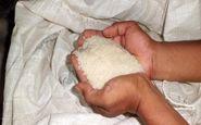 5 تن برنج قاچاق در کنگاور کشف شد