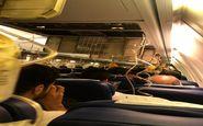 پرواز بوشهر تهران نفس مسافران را گرفت ! +عکس