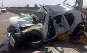 ۵ کشته و یک مجروح بر اثر تصادف خودرو ال ۹۰ با تریلی