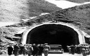 لحظه افتتاح تونل کندوان ۸۱ سال پیش