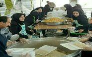 توزیع بیش از ۱۰۰هزار پرس غذا و میان وعده بین زوار اربعین حسینی