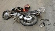 انحراف به چپ موتورسیکلت، در شیروان حادثهآفرین شد