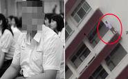 خودکشی دردناک نوجوان دانش آموز در مدرسه +فیلم