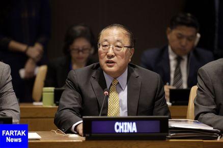 نماینده چین: قاطعانه از اجرای عدالت برای فلسطین حمایت می کنیم