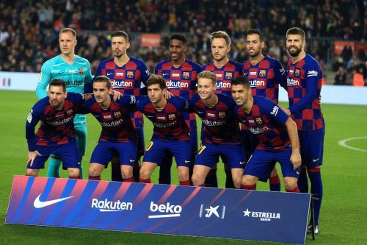 ترکیب اصلی بارسلونا و اتلتیکو مادرید اعلام شد