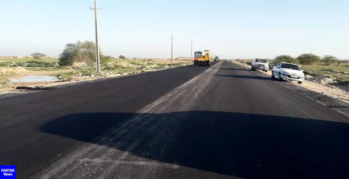 جاده ساحلی بندرریگ به گناوه آماده افتتاح است
