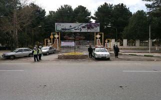 اجرای طرح محدودیت تردد در پارک ها و اماکن گردشگری کرمانشاه توسط پلیس + تصاویر