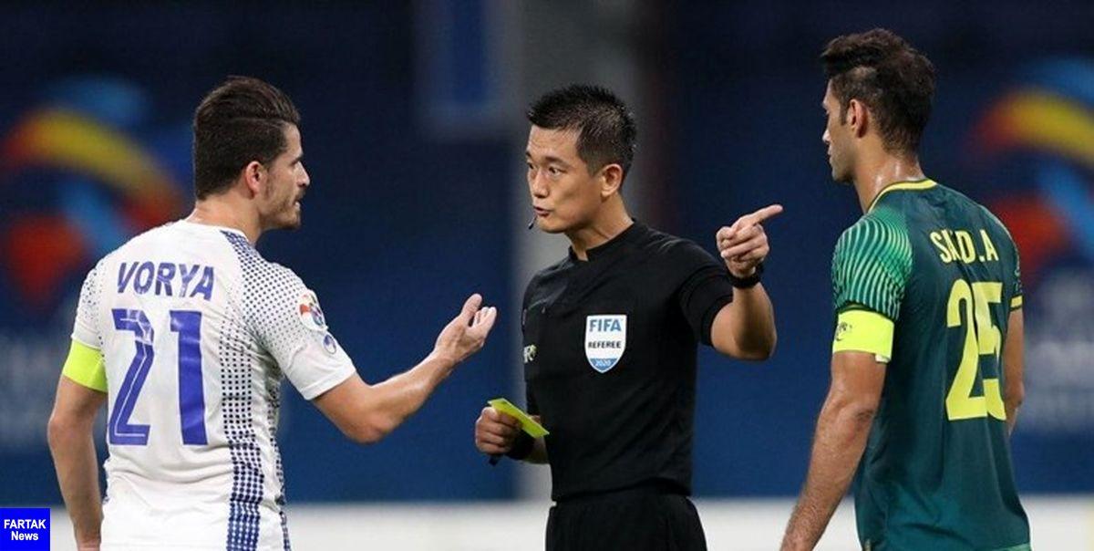 کارت زرد بازیکنان در مرحله حذفی لیگ قهرمانان آسیا بخشیده میشود