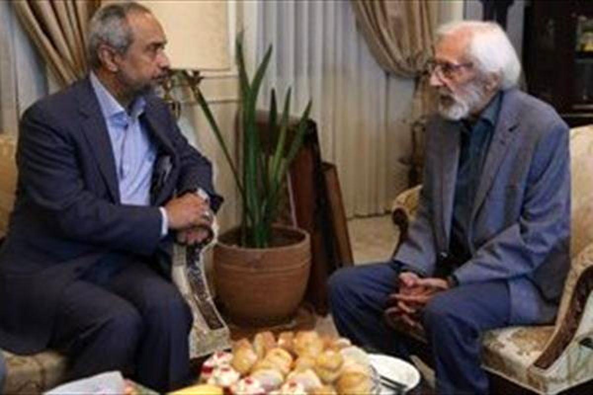 رییس دفتر روحانی به منزل مشایخی رفت