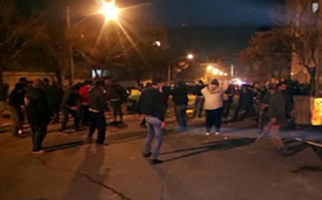 دوشنبه شب در خیابان پاسداران چه گذشت؟ + فیلم