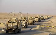 ورود کاروان کمکهای نظامی آمریکا به حسکه در ادامه حمایت از کردهای سوری