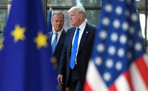آمریکا بر کالاهای اروپایی تعرفه اعمال کرد