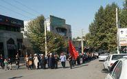 برگزاری مراسم اربعین در سرابله