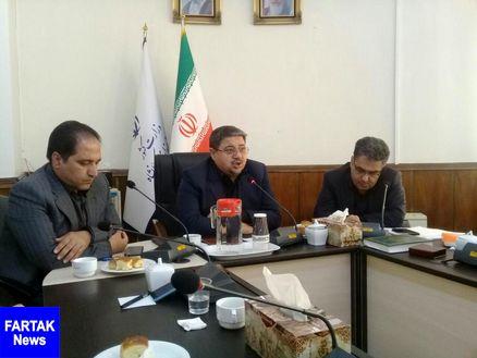 مراسم معارفه مدیرکل دفتر امور شهری و شوراهای استانداری برگزار شد