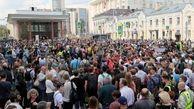 با راهپیمایی در پایتخت روسیه؛ معترضان خواستار برگزاری انتخابات آزاد برای شورای شهر مسکو شدند