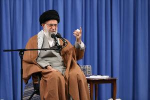 رهبر انقلاب:در عرصه جنگ نظامی و سیاسی و امنیتی دشمن را عقب زدیم!